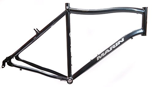 "22"" MARIN LAGUNITAS 29"" 700c Hybrid Commuter Bike Frame Alloy Black NOS NEW"