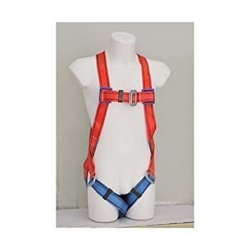 362119 Scaffolder Mountain Climbing Abseil Full Body Saftey Harness Fall Arrest KATSU Tools