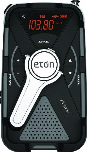 Eton All-Purpose Weather Alert Radio, FRX4 (Gray) (Flashlight Eton)