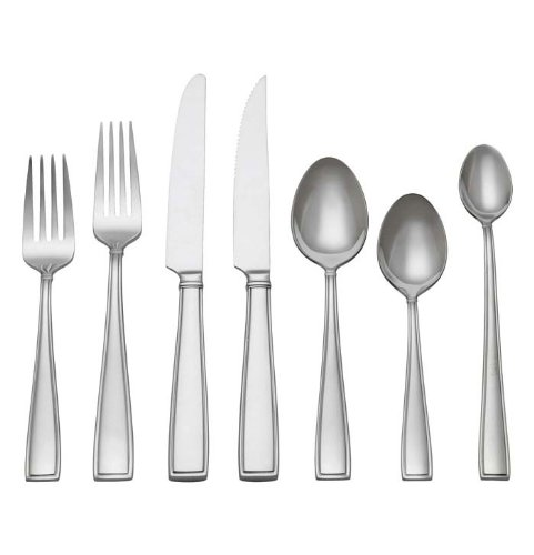 Reed & Barton Benson 108-Piece Set 18/10 Stainless Steel, Service for 12 by Reed & Barton