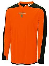 Diadora Boy's Enzo Goalkeeper Jersey Shirts Orange YS