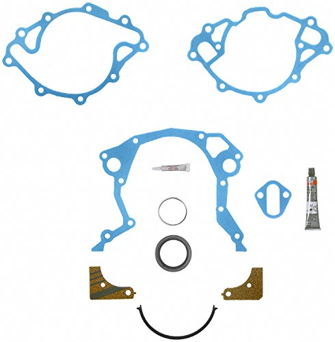 Fel-Pro TCS 45168 Timing Cover Gasket Set with Repair - Timing Ford Bronco Cover
