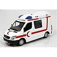Vardem 1:32 Ölçekli Ambulans Işıklı Ve Sesli Metal Çek Bırak Özellikli