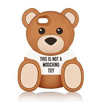 580a73094e Moschino (モスキーノ) Bear silicone iPhone6 ケース ベアー シリコンケース くま [並行輸入/