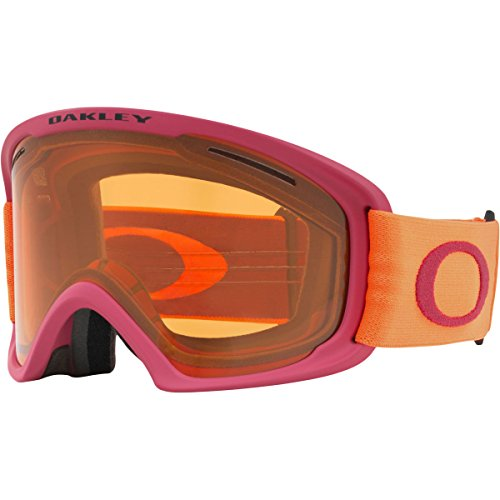 Oakley O-Frame 2.0 XL Snow Goggles, Orange Brick Frame, Persimmon Lens, - Ski Goggles Womens Oakley