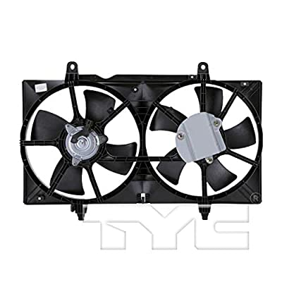 TYC 620420 Nissan Replacement Radiator/Condenser Cooling Fan Assembly: Automotive