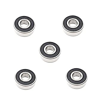 """3//8/"""" x 7//8/"""" x 11//32/"""" 3x 1604 2RS Rubber Sealed Deep Groove Ball Bearings"""