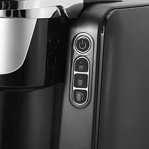 Mini machine à café expresso électrique, à capsules portable, 1420 W, 1 tasse, 48 oz, 3 bar, plastique, noir (EU 220 V)
