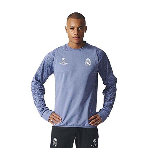 adidas Herren Sweatshirt violett hellblau