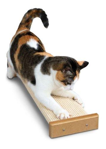 SmartCat Bootsie's Combination Scratcher for Cats w/ BONUS Toys, My Pet Supplies