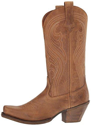 Ariat Women's Lively Western Cowboy Boot, Old West Brown, 7.5 B US by Ariat (Image #5)