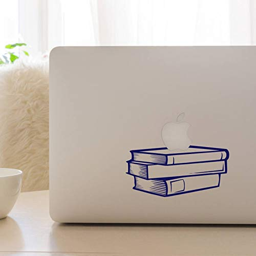BYRON HOYLE Teachers Pet, Stack of Books, Laptop Decal, MacBook Decal, Laptop Stickers, Mac Decal, Best Teacher Gift, Learning Assistant Gift