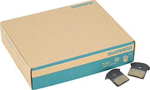 Shimano J02A Resin Disc Brake Pad/Spring/Fin, 25 Pairs,for X