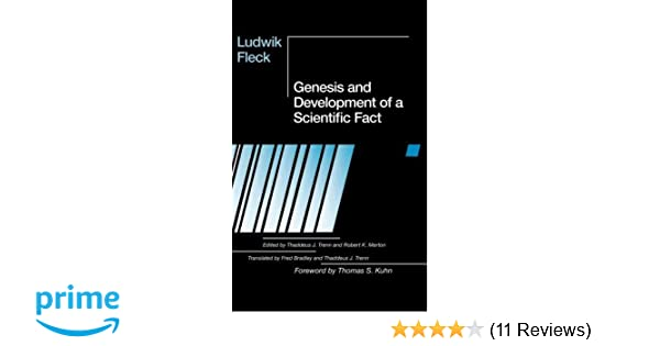Amazon com: Genesis and Development of a Scientific Fact