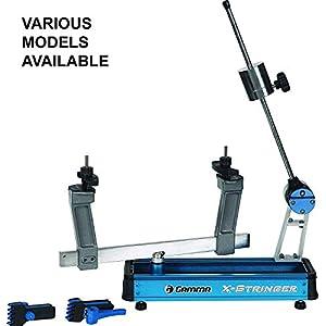 מכונה של Gamma Sports X-Stringer המתקינה מיתרים למחבטי טניס