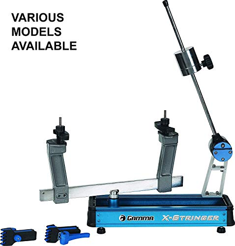 Gamma X-2 Racquet Stringing Machine: X-Stringer X-2 Tennis String Machine with Stringing Tools and Accessories - Tennis, Squash and Badminton Racket Stringer - Tabletop Racket Restring Machines