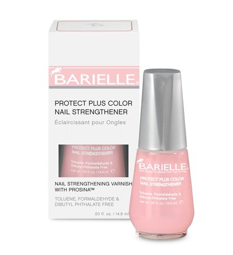 Barielle Protect Plus Color Nail Strengthener, Dark Pink,...