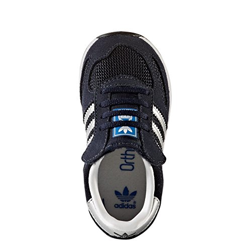 adidas Unisex Baby LA Trainer CF I Sneaker blau (Tinley / Plamet / Ftwbla)