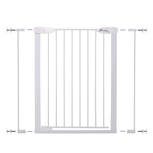 Dreambaby Boston Tall Auto Close Gate with Ezy Check Indicator (White)