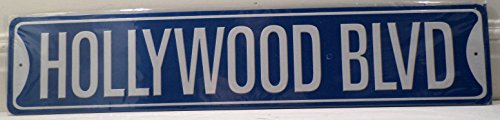 Hollywood Blvd California Metal Street Sign New Man Cave Garage Bar - Hollywood Blvd California