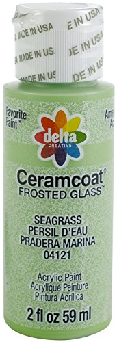 Delta Creative 04121 Ceramcoat Frost Acrylic Paint, 2 oz, Seagrass