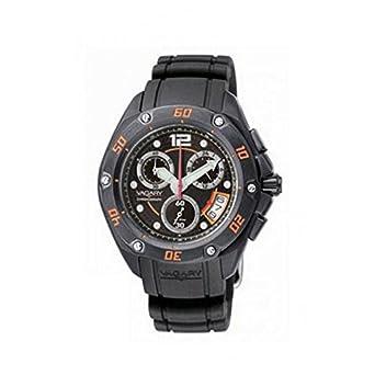 Uhr Vagary by Citizen iy2 – 041 – 50 Quarz (Batterie) Stahl Quandrante schwarz Armband Gummiarmband '