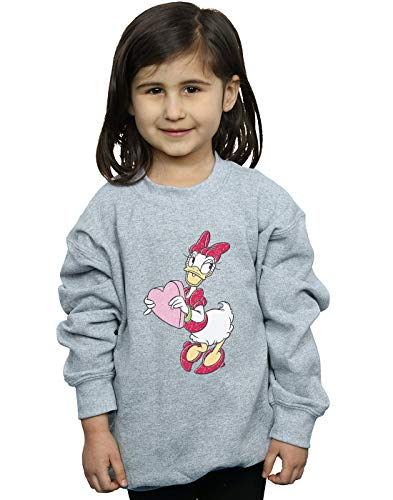 Daisy Sudadera Duck Disney Love Heart Sport Girl Gris Tf7nWRnFa
