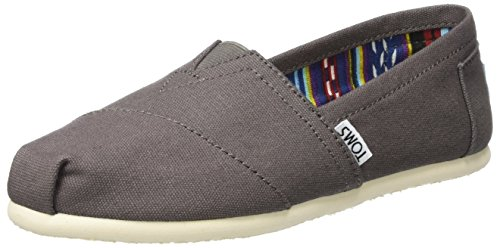 TOMS Women's Classic Canvas Slip-On,Ash,6 M -