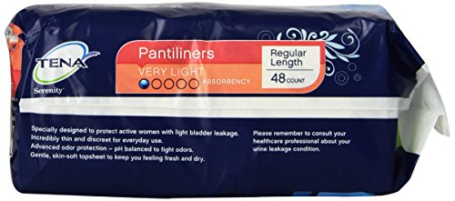 TENA Incontinence Liners for Women, Very Light, Long, 44 Count by TENA (Image #2)