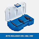 LENOX 30889889 Vari-Bit Step Drill Bit Kit, 3 Piece