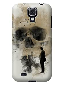 2014 Hot Sale New TPU Case for Samsung Galaxy S4 the Smoke Formed Skull