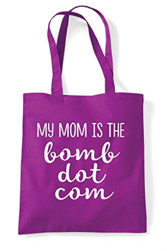 Shopper The My Magenta Statement Com Mom Bomb Bag Dot Tote Is xqaw6