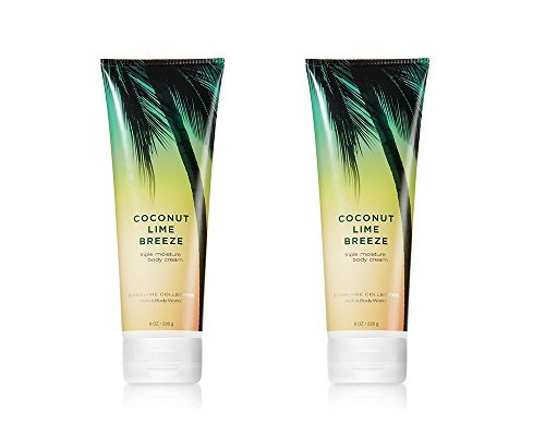 Bath and Body Works Coconut Lime Breeze Triple Moisture Body