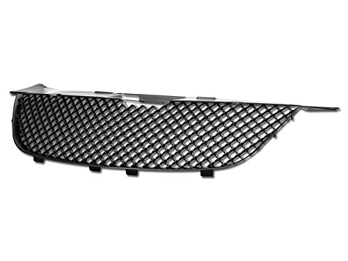 Velocity Racing Matte Black Finished Front Grille Luxury Sport Mesh Style Hood Bumper Grill Cover Abs for 2007-2010 Chrysler Sebring All Models MPN: CH1200315