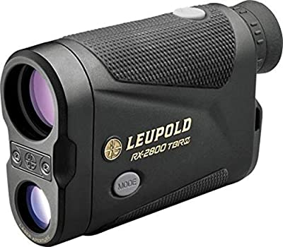 Leupold RX-2800 7x27mm TBR/W Laser Rangefinder, OLED Display, Black