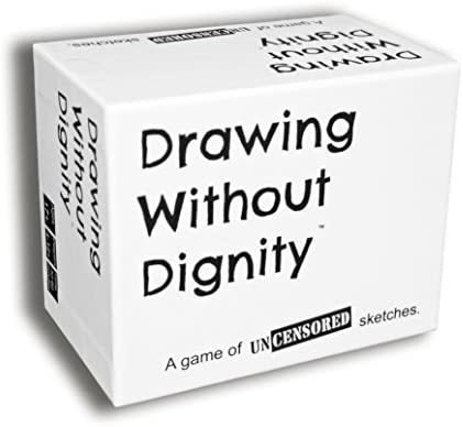 Drawing Without Dignity Adult Party product image