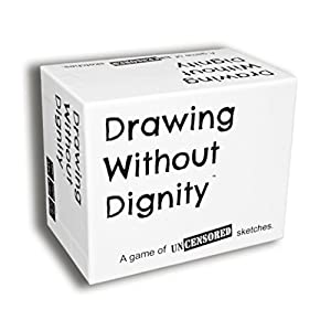 Best Epic Trends 41KRT5fxqkL._SS300_ Drawing Without Dignity - A Party Game of Uncensored Sketches