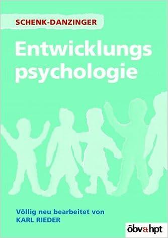 Entwicklungspsychologie.: Lotte Schenk-Danzinger, Karl ...
