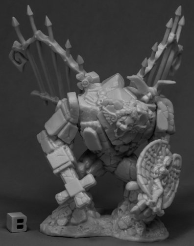 Reaper Miniatures Graveyard Golem77526 Bones Unpainted RPG D&D Figure ()