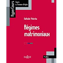Régimes matrimoniaux (HyperCours) (French Edition)
