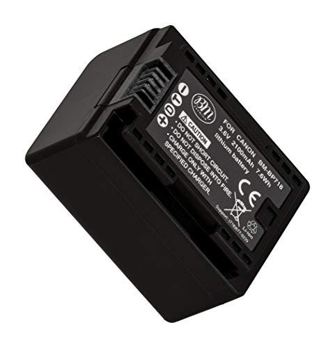 BM Premium Fully Decoded BP-718 Battery for Canon Vixia HF R70, HF R72, HF R700, HFM50, HFM52, HFM500, HFR30, HFR32, HFR300, HFR40, HFR42, HFR400, HFR50, HFR52, HFR500, HFR60, HFR62, HFR600 Camcorder