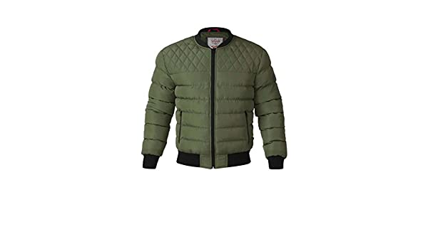 D555 Mens Quilted Bomber Jacket TURNER