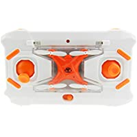 Night lions Tech (TM) Pocket Drone 8801 4CH 4Axis Gyro Mini Quadcopter with Switchable Controller RTF Orange