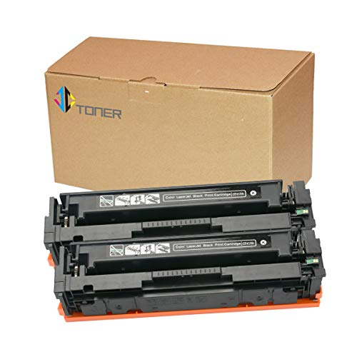 Series Printer Laserjet Laserjet - 2 Pack Black CF410A 410A Compatible Toner Cartridges for use with Color Laserjet Pro MFP M477fdn M477fdw M477fnw M452dn M452nw M452dw M377dw Series Printer