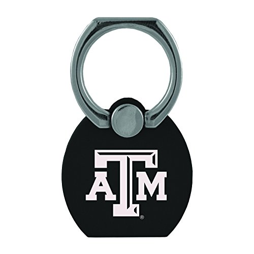 Texas A&m University Pedestal - Texas A&M University|Multi-Functional Phone Stand Tech Ring|Black