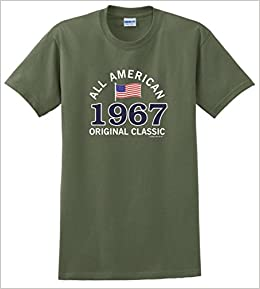 Amazon 50th Birthday Party Favors Gifts For All 1967 American T Shirt XL MlGrn Books