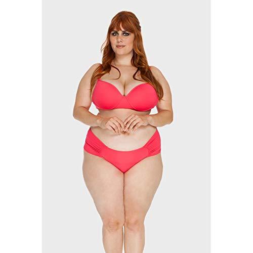 Calcinha Drapeada Plus Size Pink-46