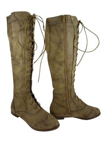 Chaussmaro - Botas para hombre marrón claro