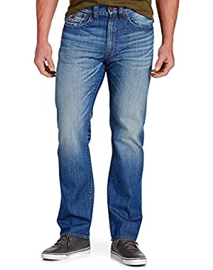 Ricky Straight Jeans Blue Metal Wash 44 X 34
