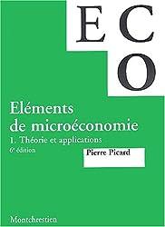 Eléments de microéconomie. Tome 1, Théorie et applications, 6ème édition